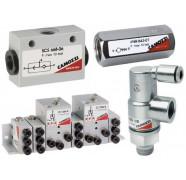 Автоматические клапаны и логические элементы Camozzi