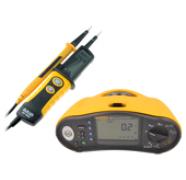 Тестеры и измерители электр. установок
